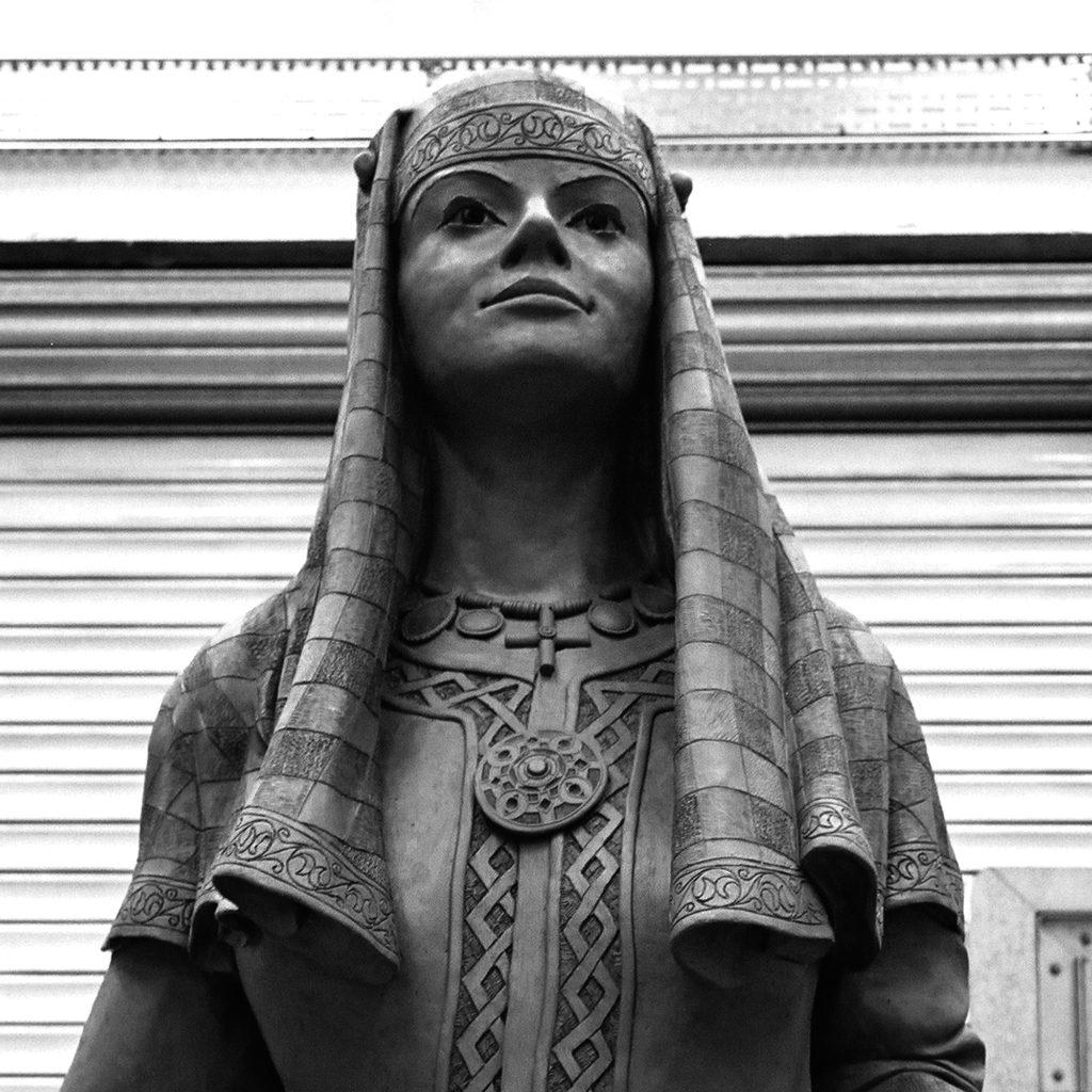 Queen Bertha, Lady Wootton's Green, UNESCO, Canterbury
